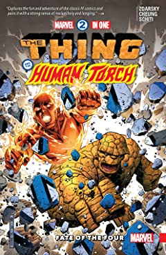 Marvel Two-In-One Tome 1: Fate Of The Four