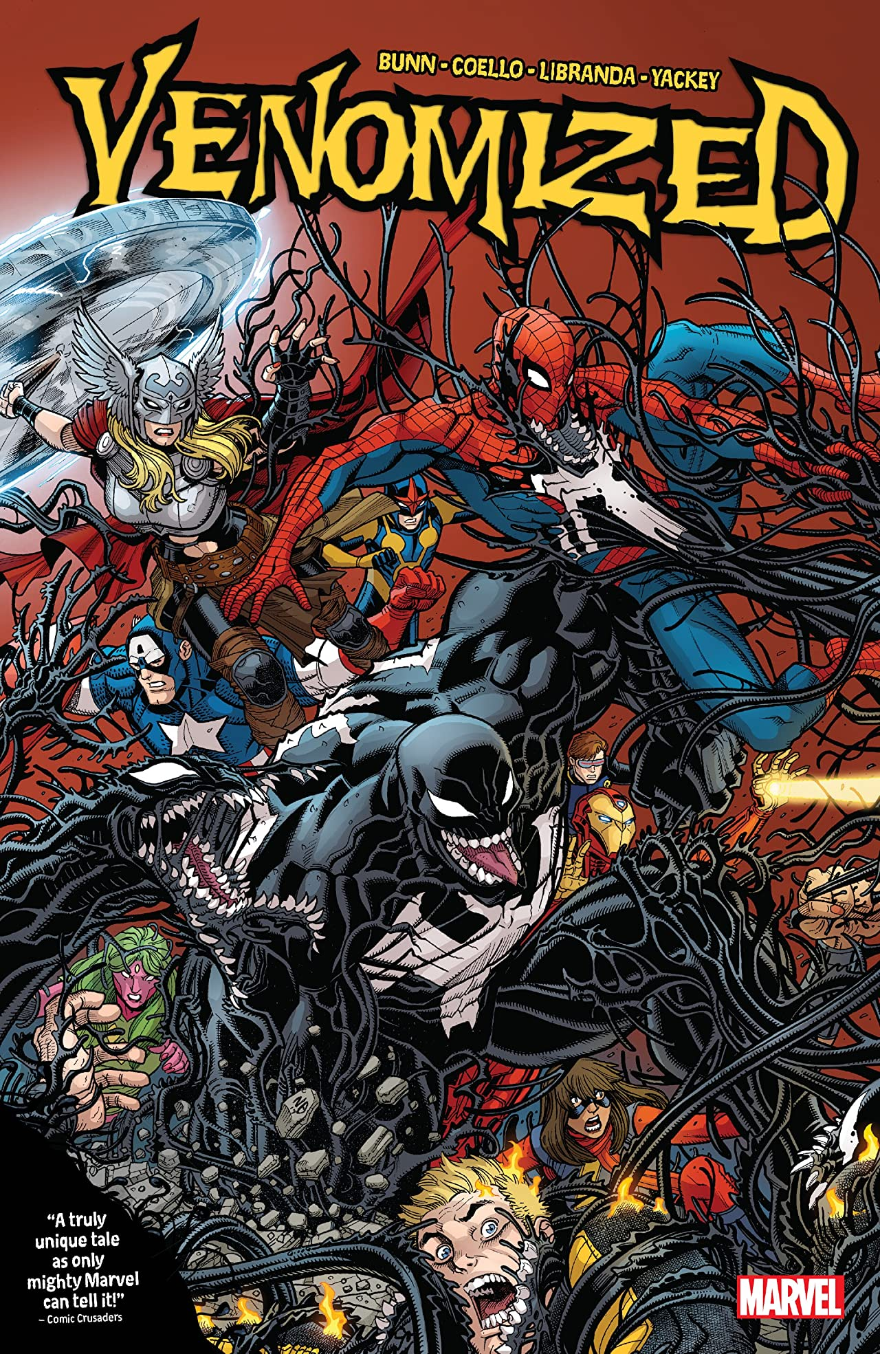 Venomized (2018) (5 tomes) sur Bookys