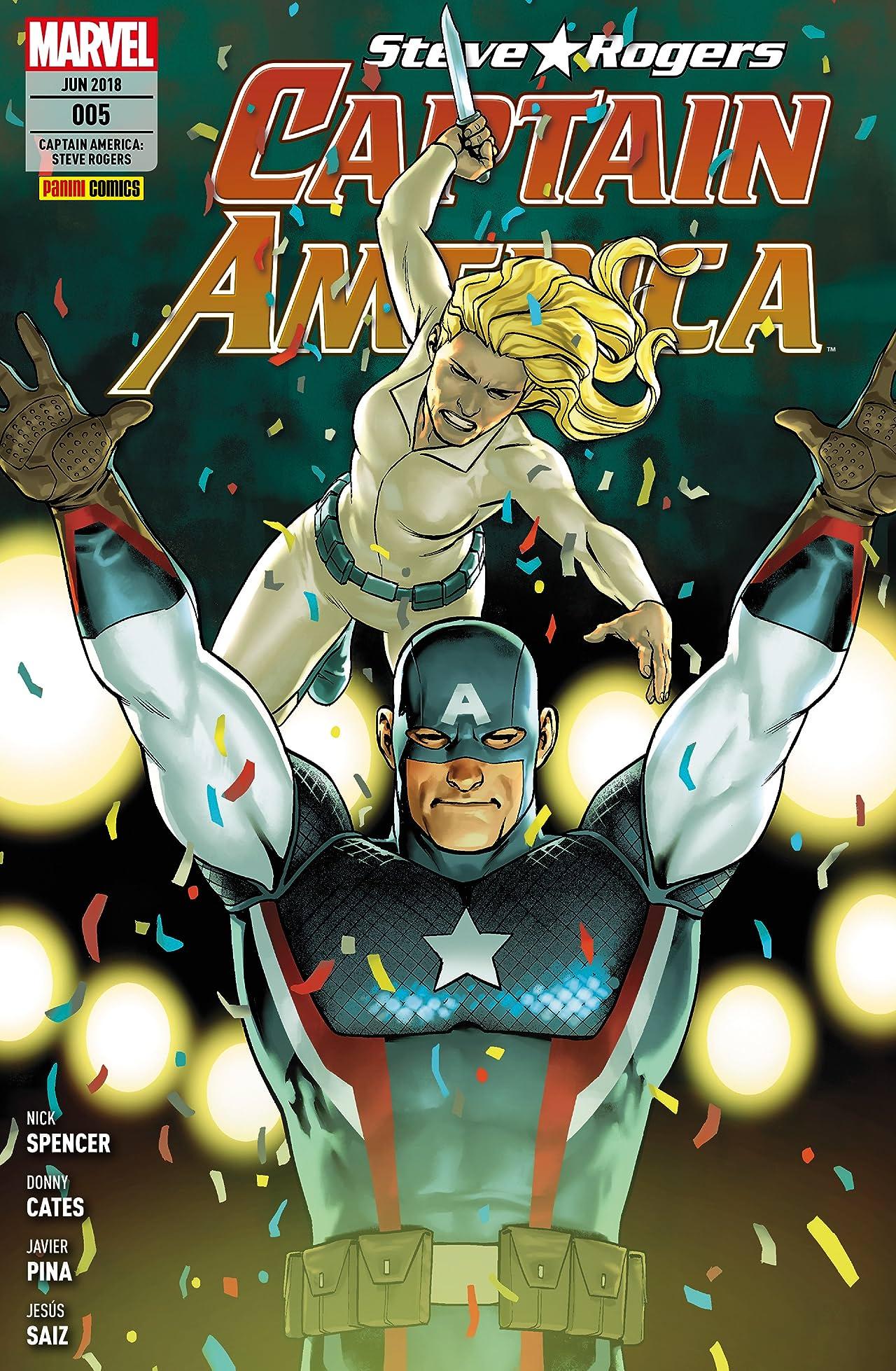 Captain America: Steve Rogers Vol. 5: Der Anschlag