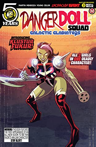 Danger Doll Squad: Galactic Gladiators No.2