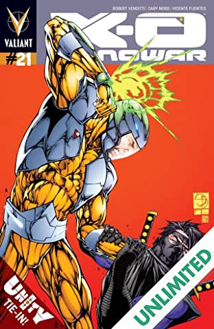 X-O Manowar (2012- ) #21: Digital Exclusives Edition