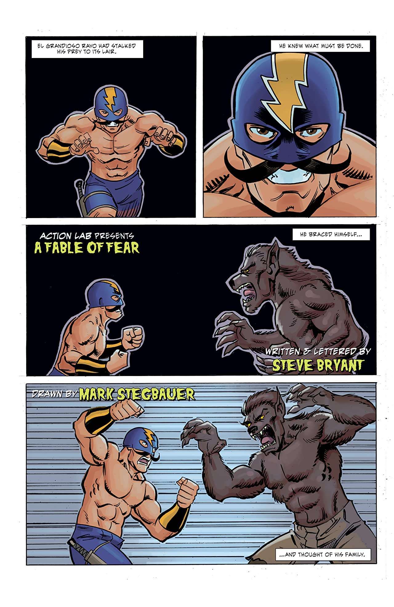 Ghoul Scouts: I Was a Tweenage Werewolf #3