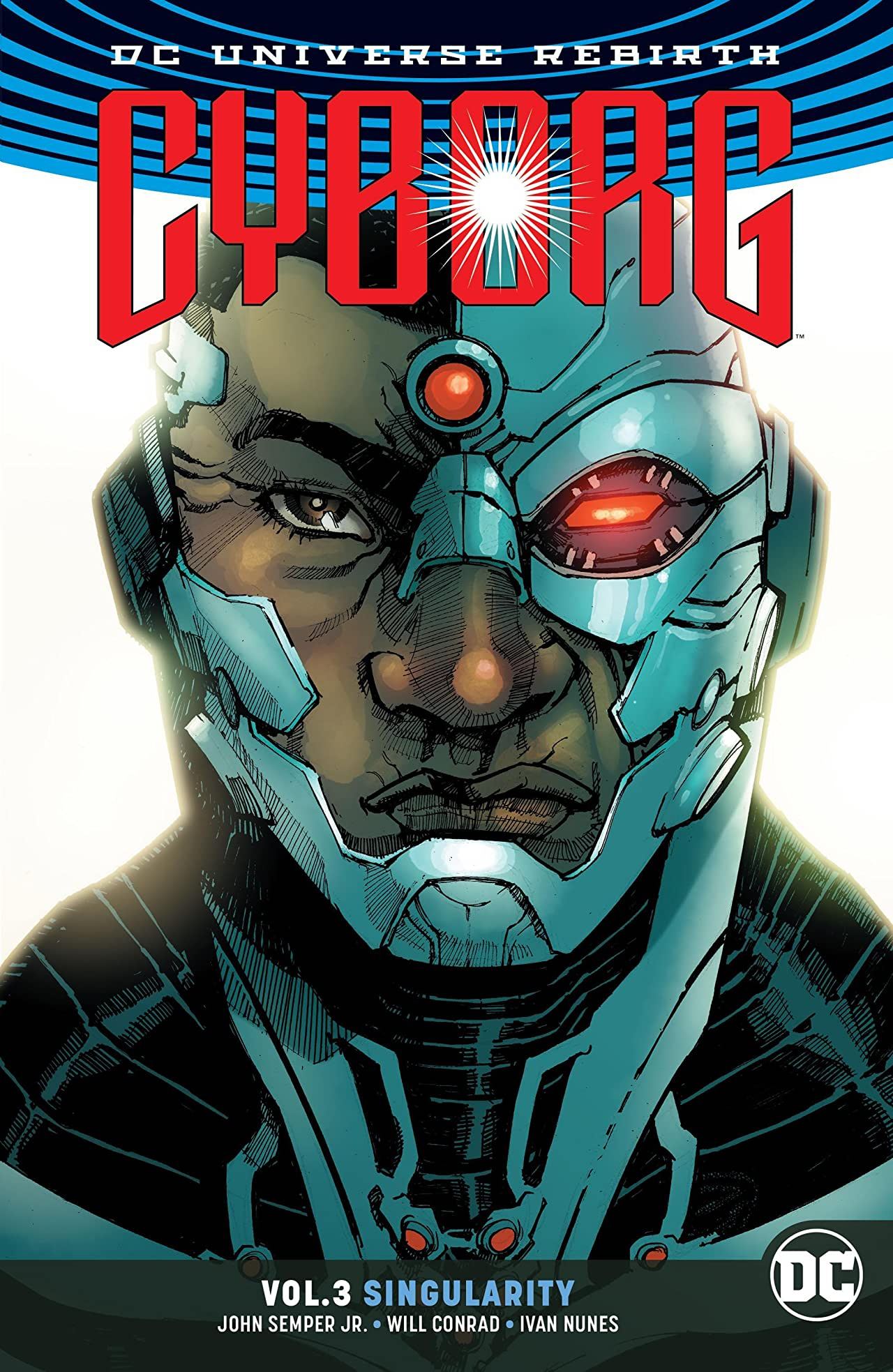 Cyborg (2016-2018) Vol. 3: Singularity