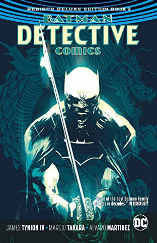 Batman - Detective Comics: The Rebirth Deluxe Edition Book 2
