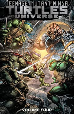 Teenage Mutant Ninja Turtles Universe Vol. 4: Home