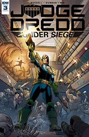 Judge Dredd: Under Siege No.3 (sur 4)