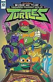 Rise Of The Teenage Mutant Ninja Turtles #0