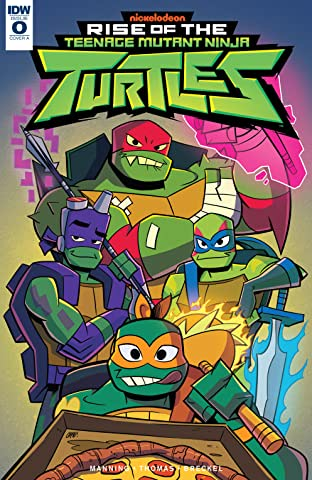 Teenage Mutant Ninja Turtles: Rise of the TMNT #0