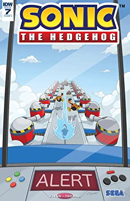 Sonic The Hedgehog (2018-) #7
