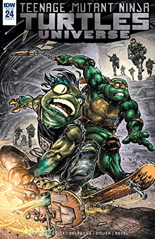 Teenage Mutant Ninja Turtles Universe #24