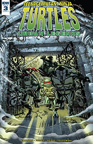 Teenage Mutant Ninja Turtles: Urban Legends No.3
