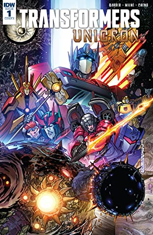 Transformers: Unicron No.1 (sur 6)