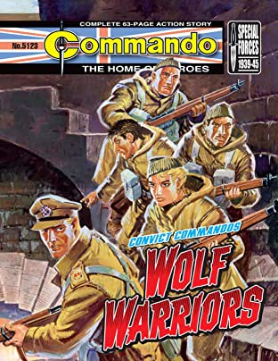 Commando #5123: Wolf Warriors