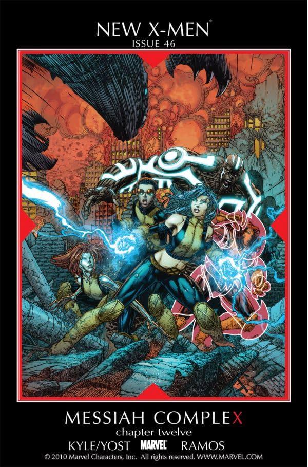 New X-Men (2004-2008) #46