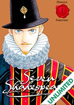 Seven Shakespeares (comiXology Originals) Vol. 1