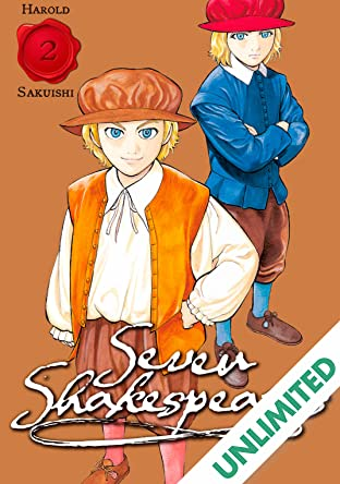 Seven Shakespeares (comiXology Originals) Vol. 2