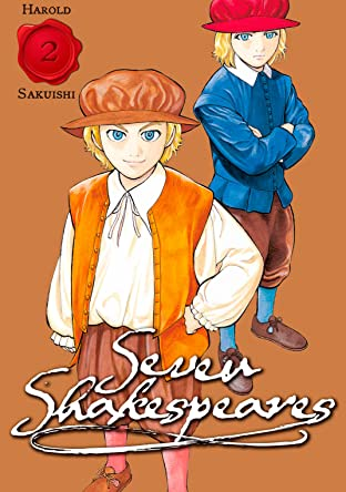 Seven Shakespeares (comiXology Originals) Tome 2