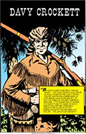Classics Illustrated #129: Davy Crockett