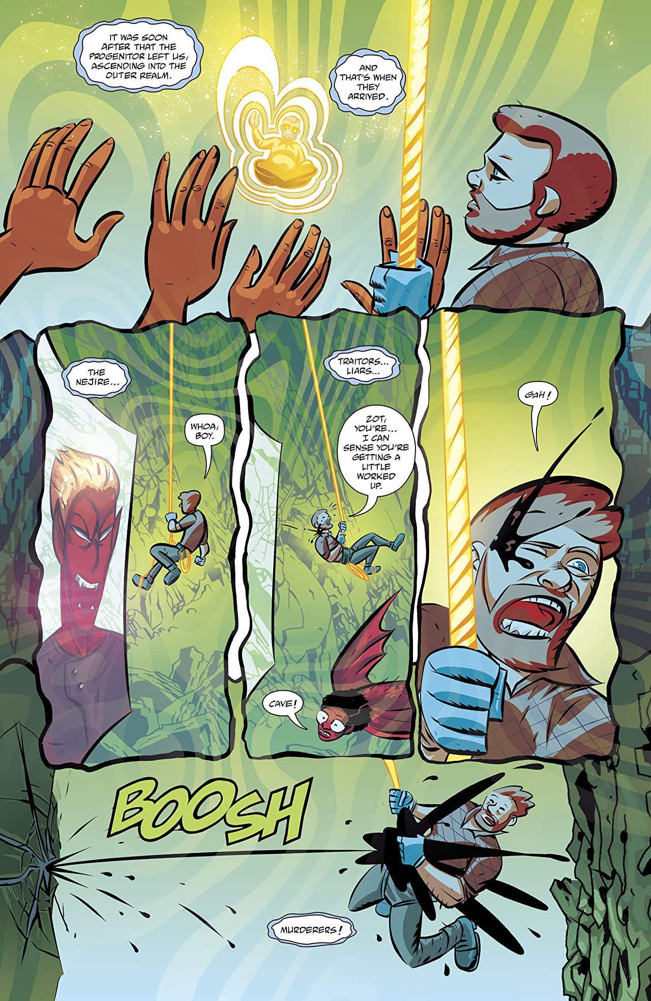 Cave Carson Has an Intersteller Eye (2018-) #3