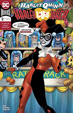 Harley Quinn: Harley Loves Joker (2018) #2