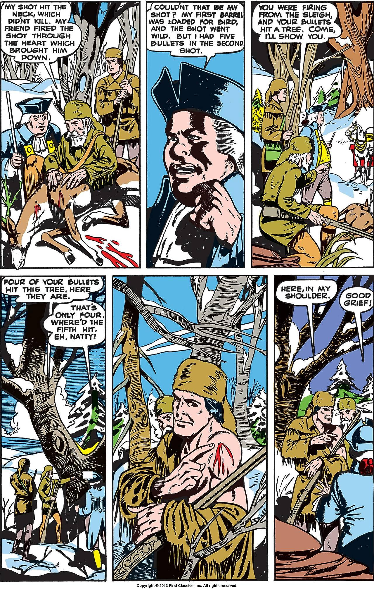 Classics Illustrated #37: The Pioneers