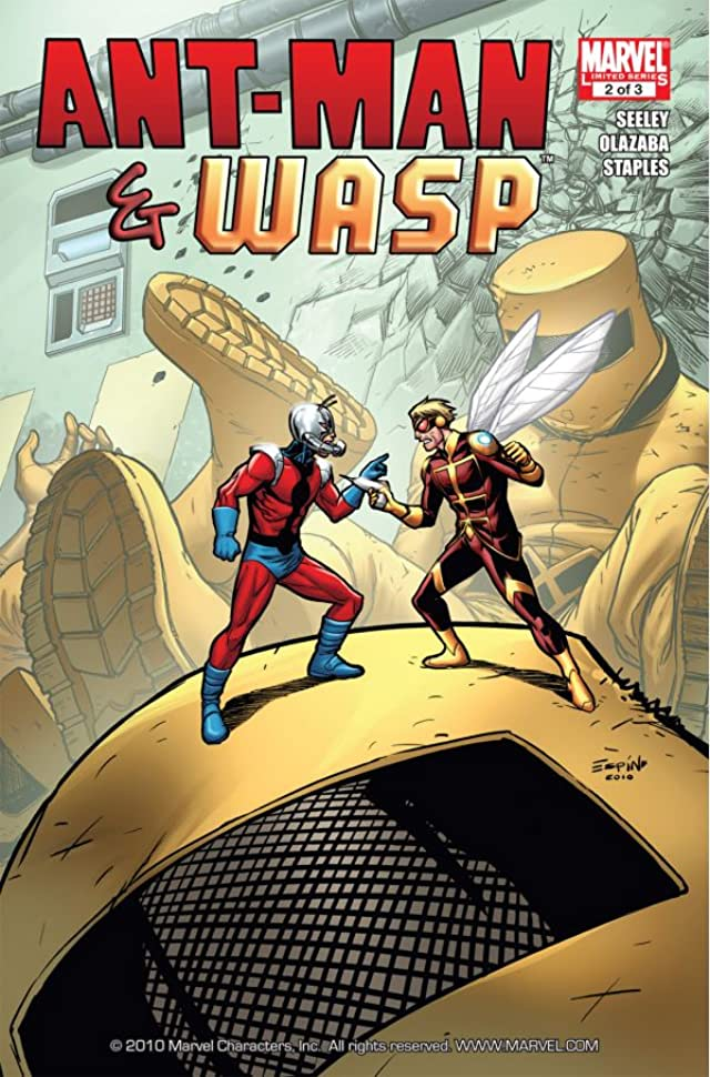 Ant-Man and Wasp #2