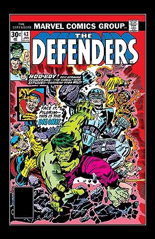 Defenders (1972-1986) #43
