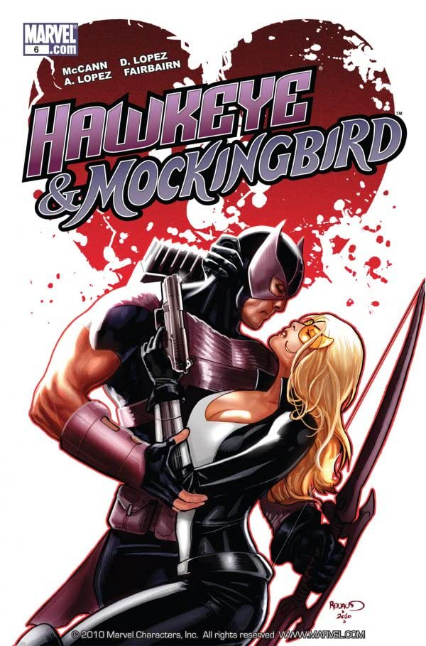 Hawkeye & Mockingbird #6