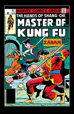 Master of Kung fu (1974-1983) #87