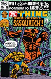Marvel Two-In-One (1974-1983) #83