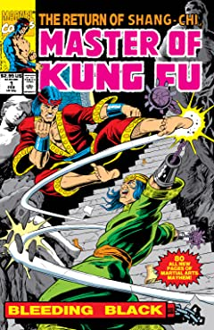 Master of Kung Fu: Bleeding Black (1990) #1