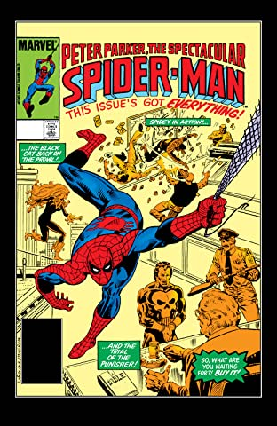 Peter Parker, The Spectacular Spider-Man (1976-1998) #83