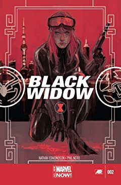 Black Widow (2014-2015) #2