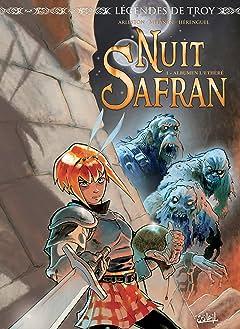 Legendes de Troy - Nuit Safran Tome 1: Albumen l'éthéré