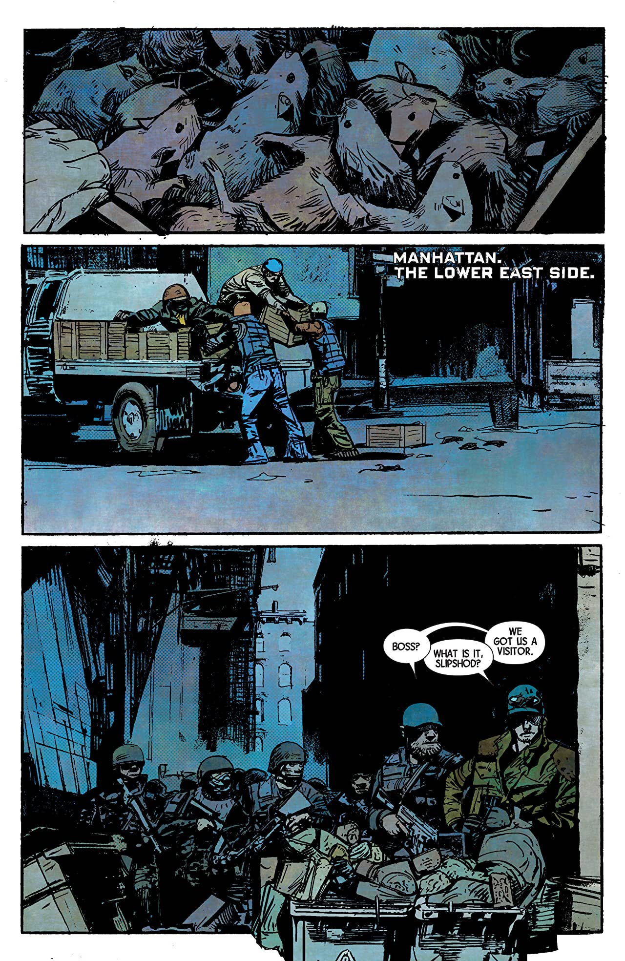 George Romero's Empire of the Dead: Act One #1 (of 5)