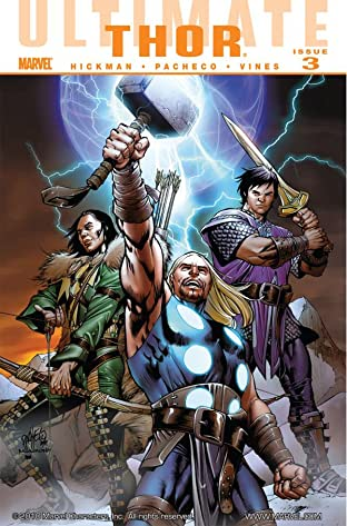 Ultimate Comics Thor No.3 (sur 4)