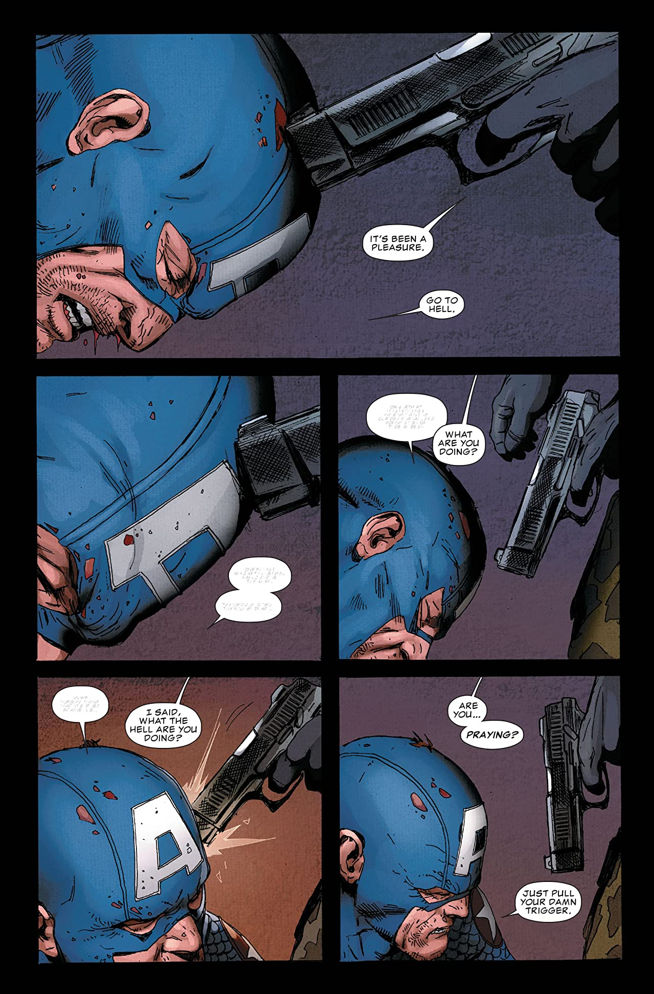 Ultimate Comics Captain America #1 (of 4)