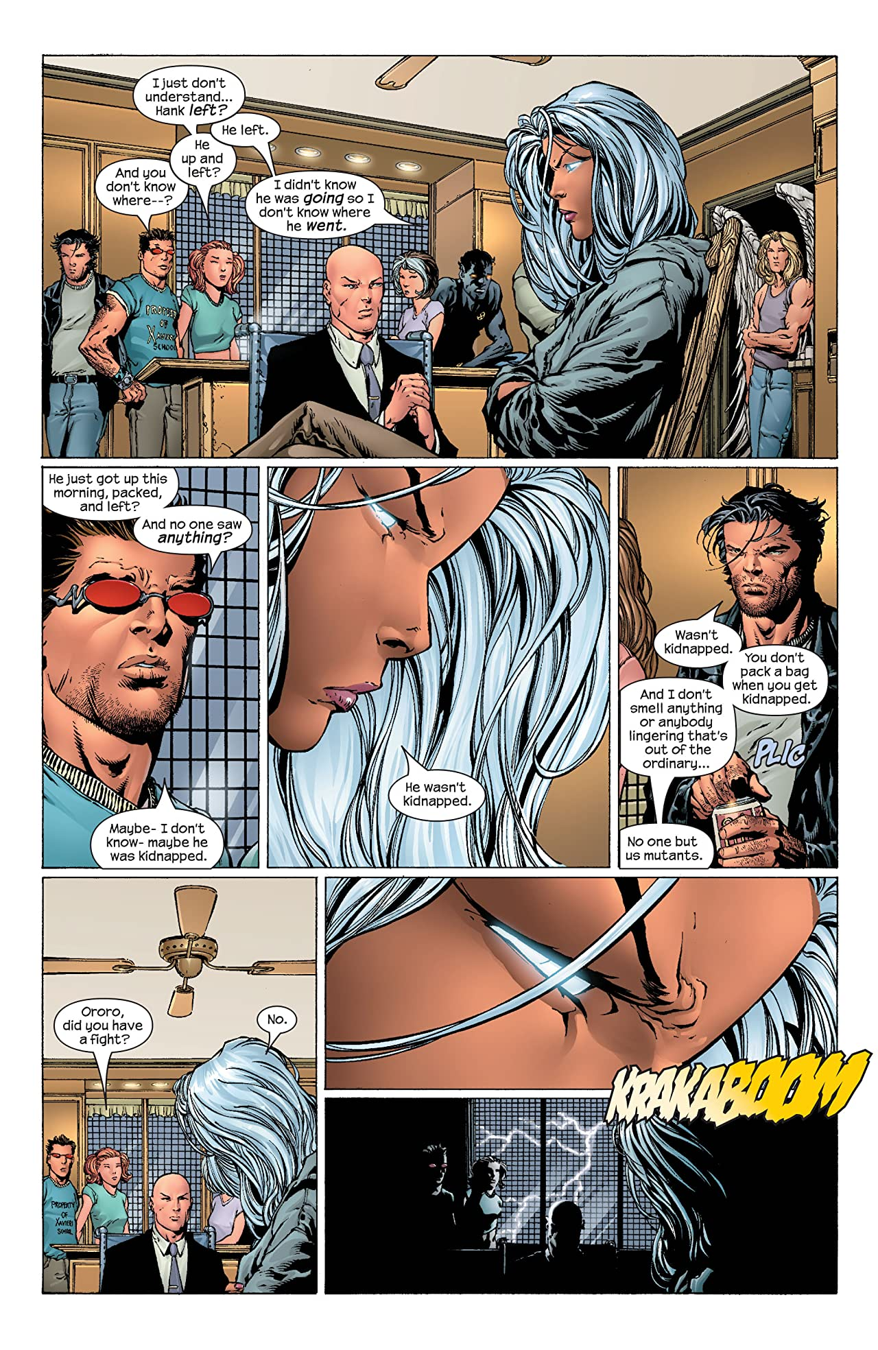 Ultimate X-Men #43