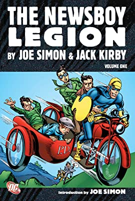 The Newsboy Legion by Joe Simon & Jack Kirby
