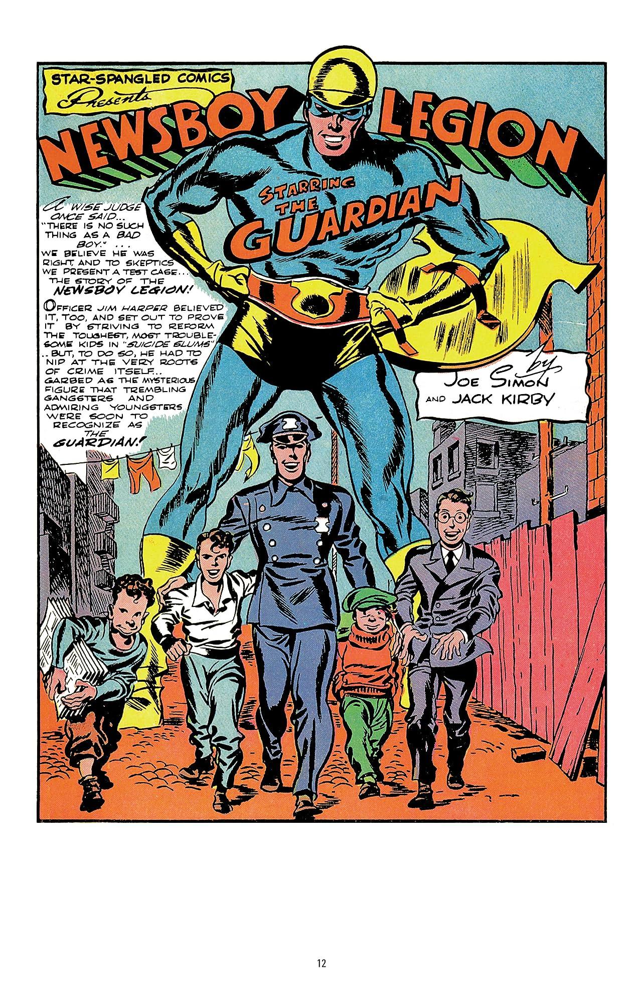 The Newsboy Legion by Joe Simon & Jack Kirby