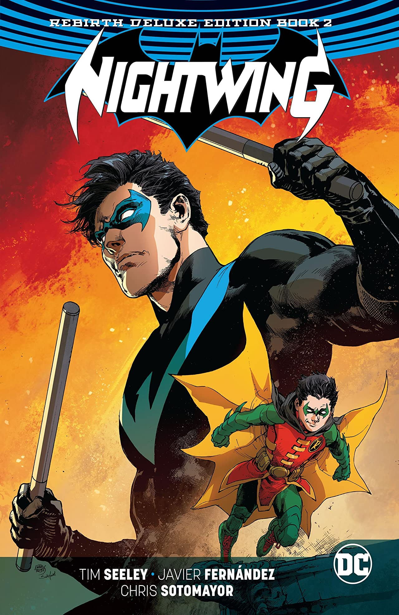 Nightwing: The Rebirth Deluxe Edition - Book 2