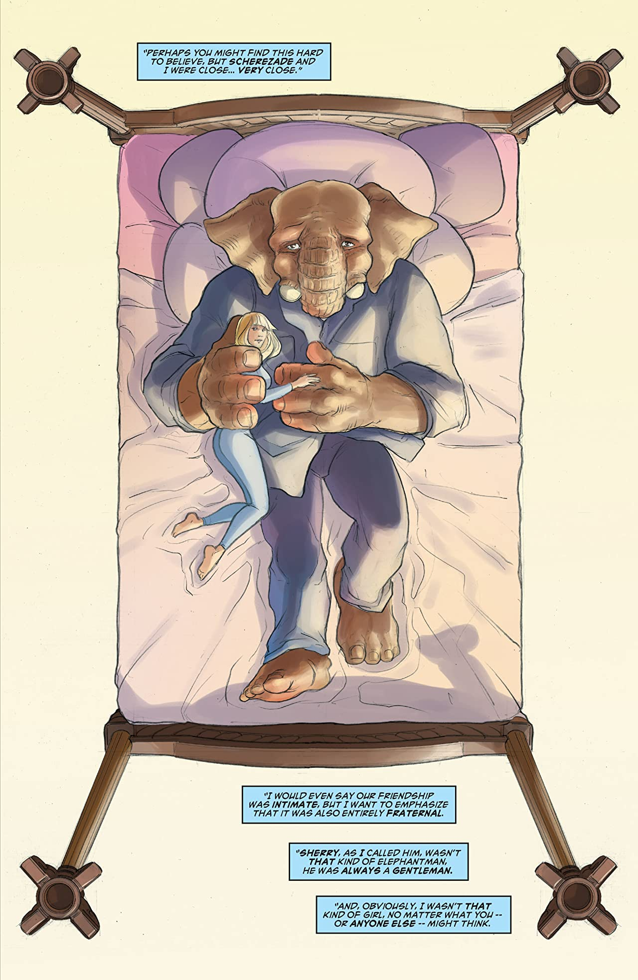 Elephantmen 2261: The Death of Shorty (comiXology Originals) No.3 (sur 5)