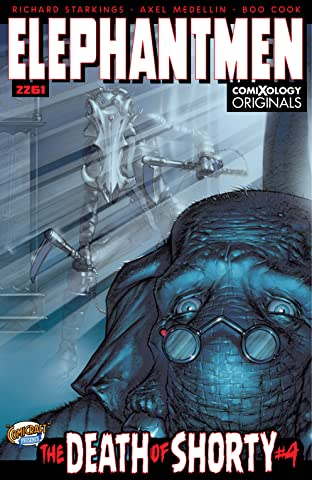 Elephantmen 2261: The Death of Shorty (comiXology Originals) No.4 (sur 5)