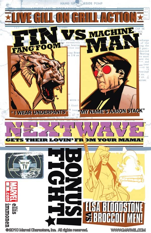 Nextwave: Agents of HATE #2