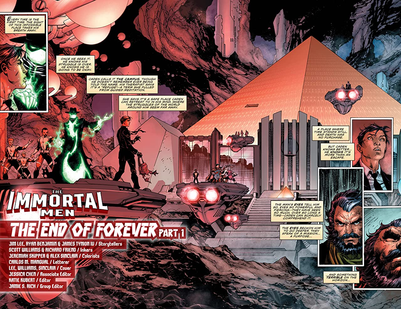 The Immortal Men: The End of Forever