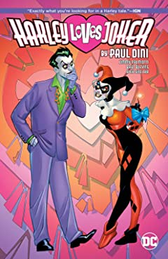 Harley Loves Joker by Paul Dini