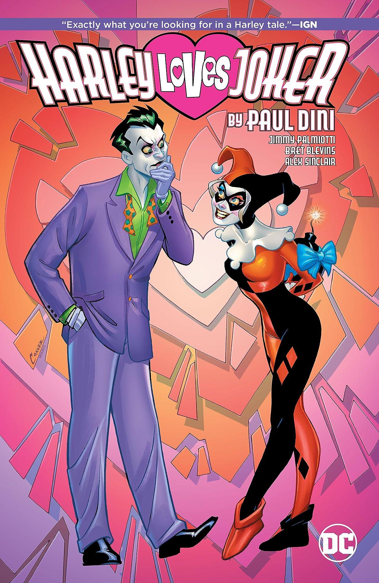 Harley Loves Joker by Paul Dini