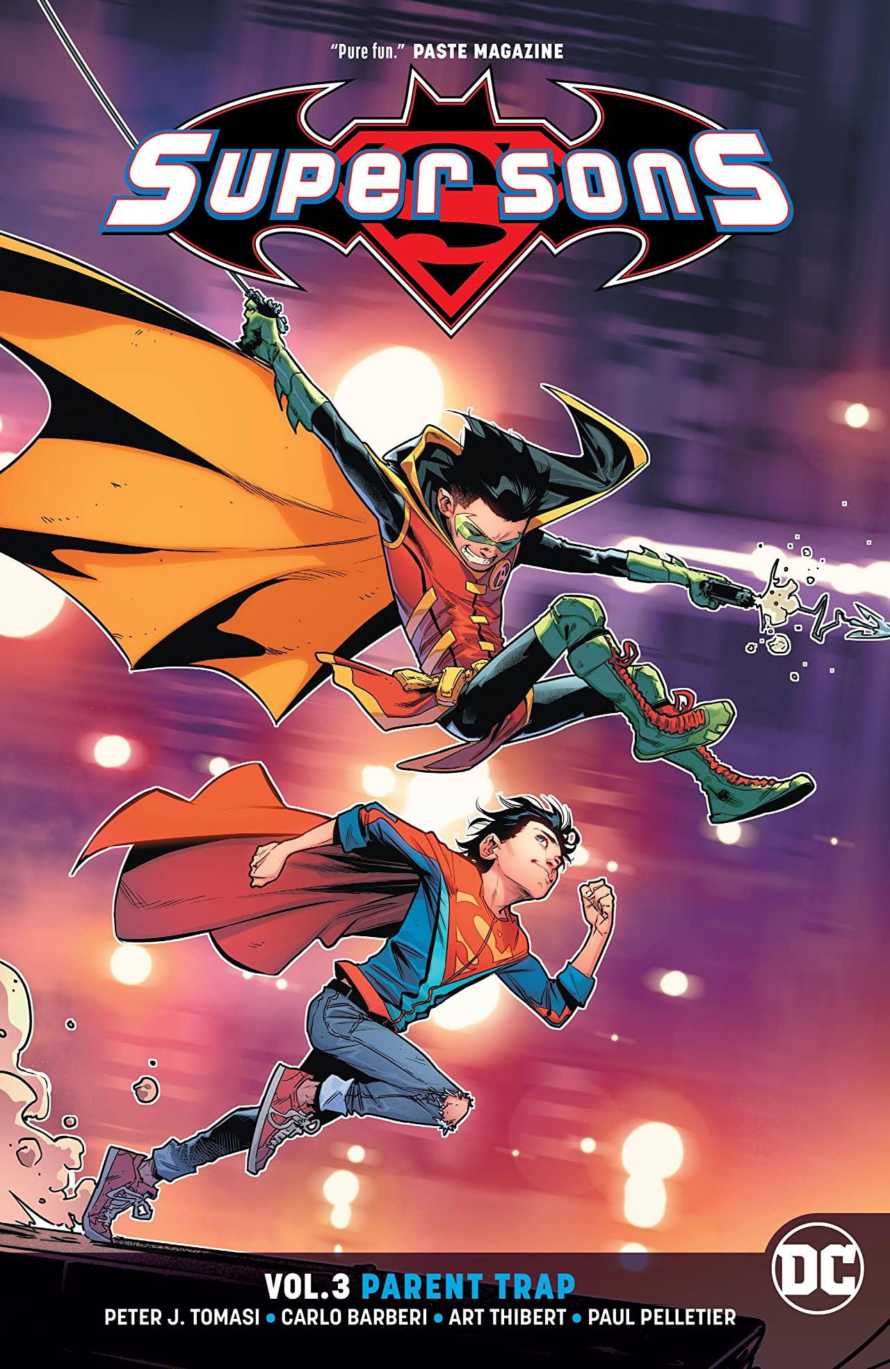 Super Sons (2017-) Vol. 3: Parent Trap