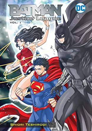 Batman and the Justice League Manga  Tome 1