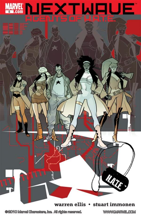 Nextwave: Agents of HATE #5